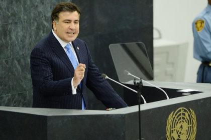 Саакашвили в ООН выступил с речью о добрососедстве