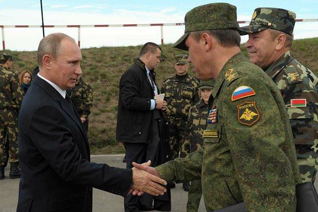 Вероятная война с НАТО или учения против «боевиков»