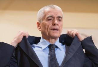 Отставка Онищенко объявлена преждевременной