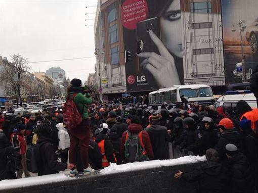 В Киеве готовятся встретить «Беркут»