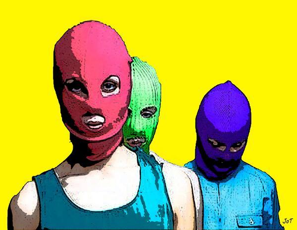 Pussy Riot на свободе