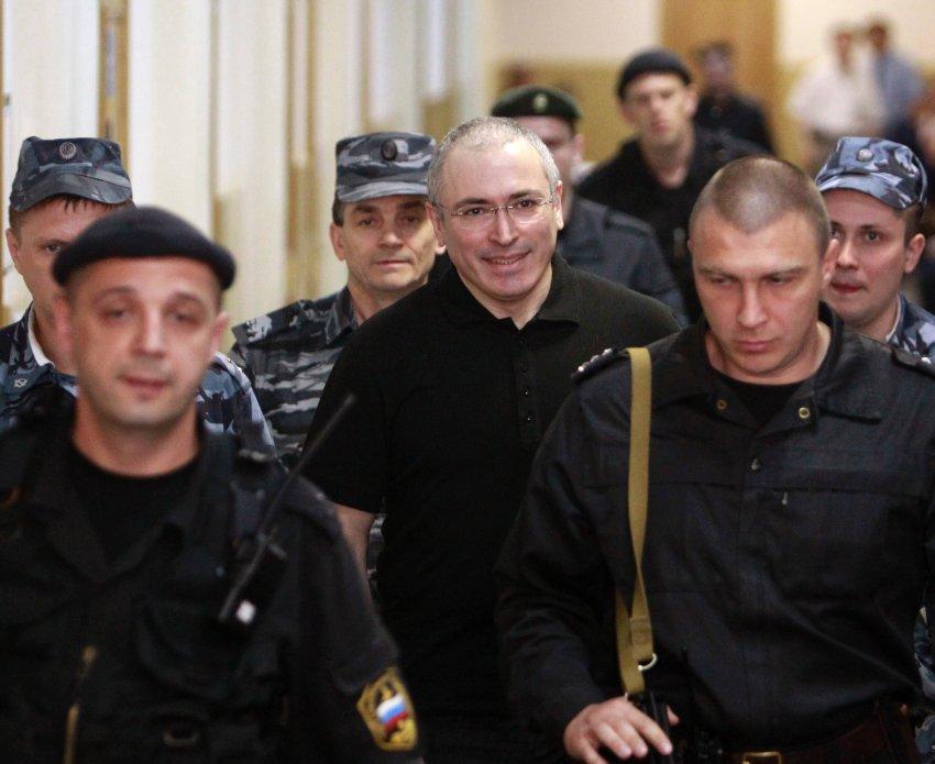 Ходорковский приземлился в Берлине