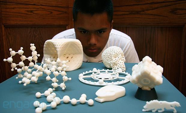 3D печать стала ближе. Photoshop научился отправлять 3D модели на принтер