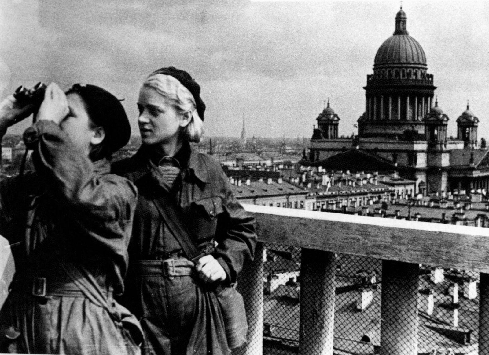 Люди блокадного Ленинграда