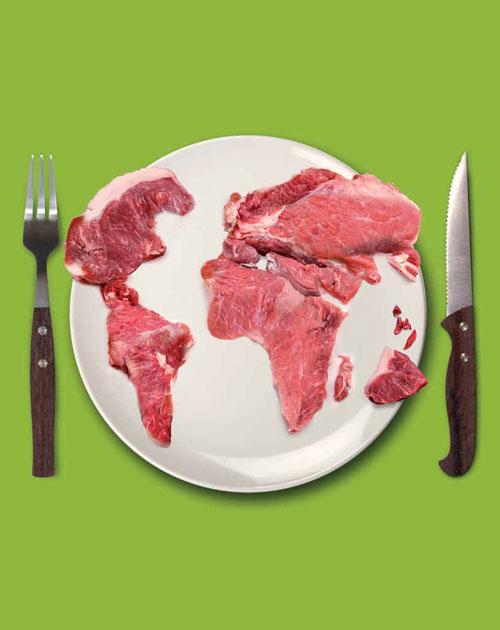 Мир мясоедов: средний россиянин съедает по 25 кг куриного мяса