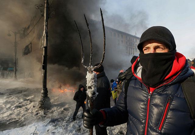Активисты в Киеве покинули здание Минюста после критики со стороны Майдана