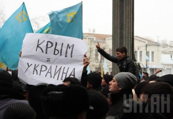 Заседание Рады в Крыму отменили, на митинге умер пожилой мужчина