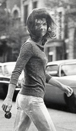 Jackie Onassis Sighting at Madison Avenue in New York City - October 7, 1971