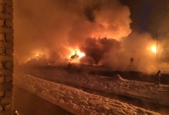 В Кирове загорелись вагоны со сжиженным газом, эвакуированы 400 человек