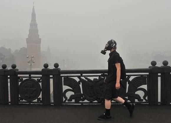 МЧС: Москву летом ждет повторение смога 2010 года