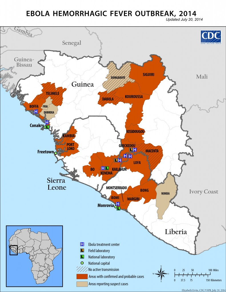 an introduction to the issue of the ebola hemorrhagic fever