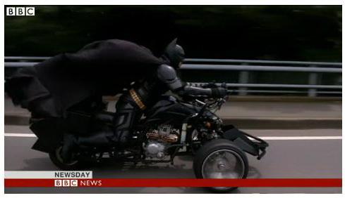 Сварщик-бэтмен появился в Японии