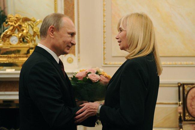 В канун 8 Марта Владимир Путин встретился в Самаре с