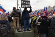 Марш молчания. Репортаж с шествия в память о Борисе Немцове