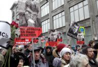 Live-трансляция. Траурное шествие в память о Борисе Немцове в Москве