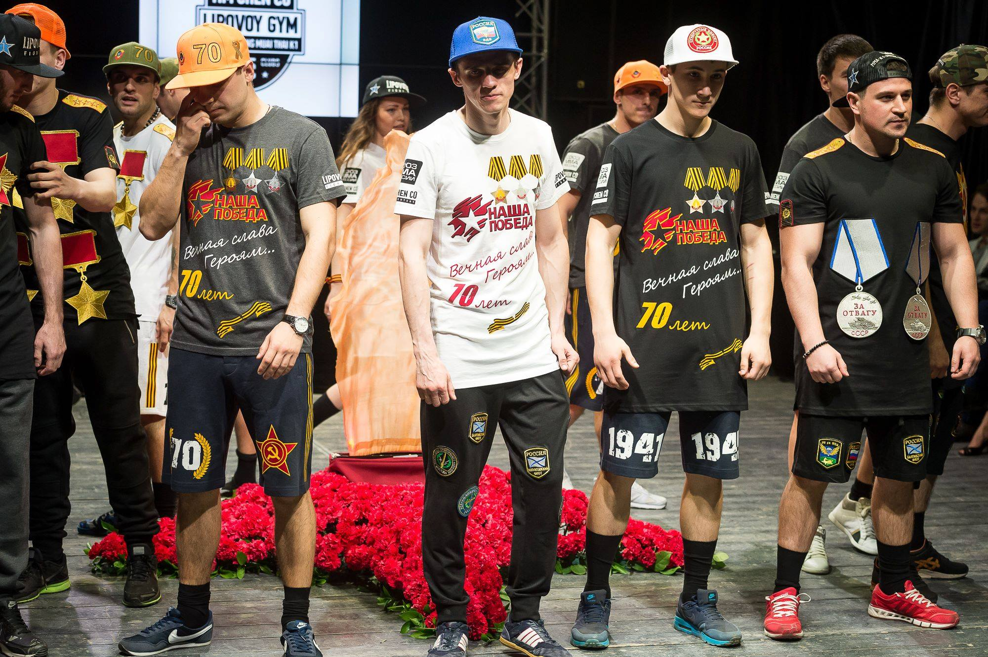 Репортаж: «победный» показ мод от молодых единороссов