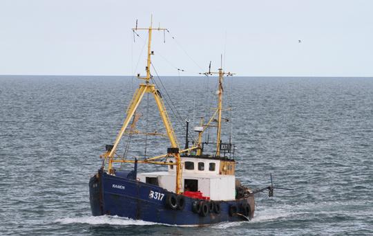 Ирландские рыбаки заявили, что в их сети попала русская подлодка
