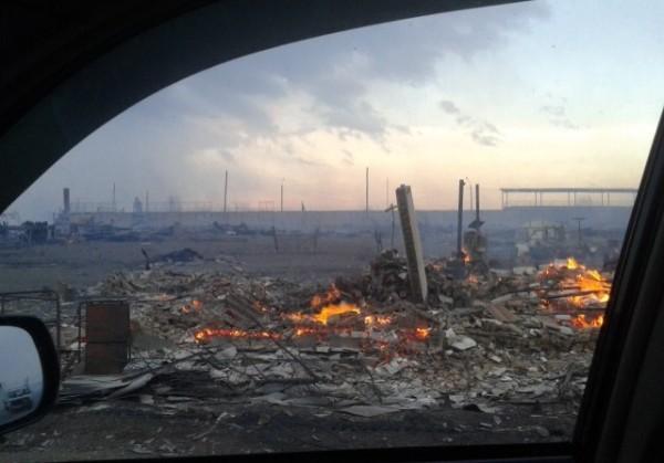 Фото и видео: пожары в Хакасии оставили без жилья более 2 тысяч человек