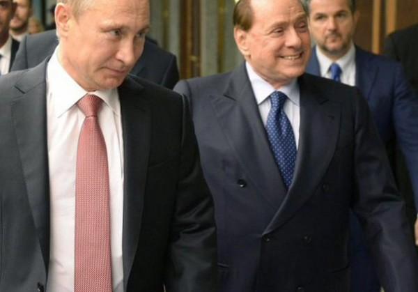 Путин и Берлускони провели выходные на Алтае