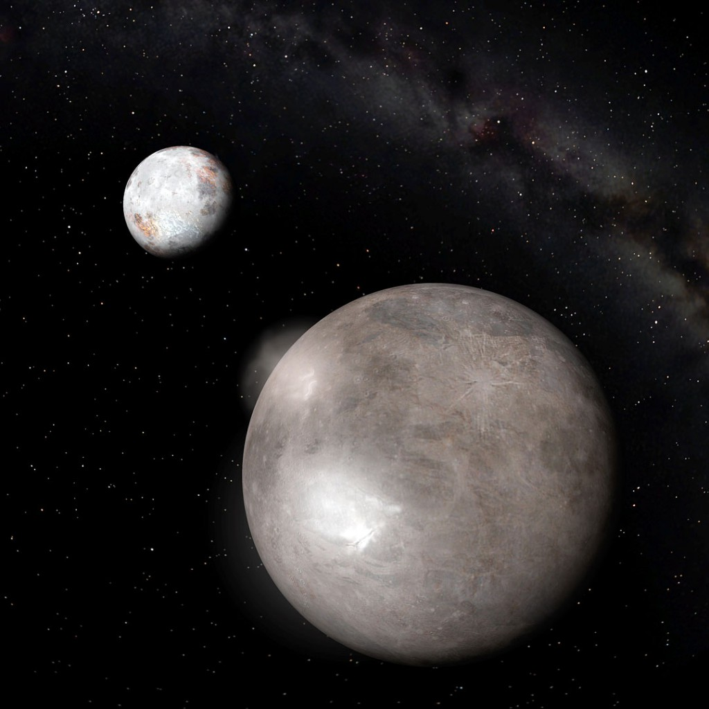pluto's moons pictures - 1000×1000
