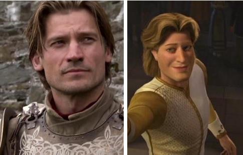 17 доказательств того, что сериал «Игра престолов» снят по мотивам «Шрека»
