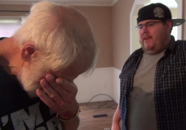 Реакция этого отца, которому сын-пранкер подарил дом, бесценна