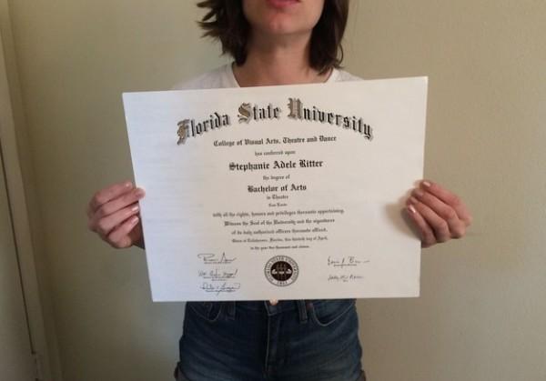«Новый, неиспользованный». Американка выложила на eBay свой диплом о высшем образовании