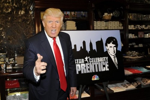 CELEBRITY APPRENTICE -- Red Carpet Event at Trump Tower -- Pictured: Donald Trump -- (Photo by: Virginia Sherwood/NBC)