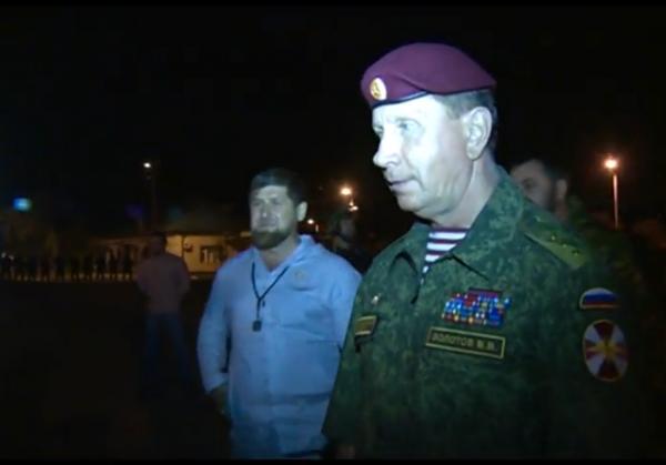 Видео: бывший телохранитель Путина внезапно проверил чеченский ОМОН