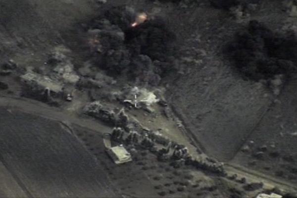Официальное видео Минобороны: удары ВВС России по объектам Сирии