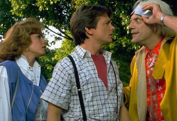 Марти МакФлай и доктор Браун из «Назад в будущее» снялись в рекламе
