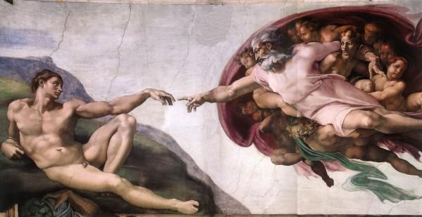 Michelangelo_CreationAdam