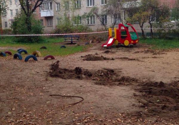 В Твери пенсионерка оплатила демонтаж детской площадки из-за смеха детей
