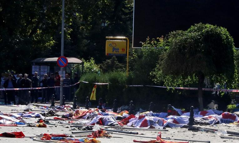 Неменее 20 человек погибло от 2-х взрывов вАнкаре