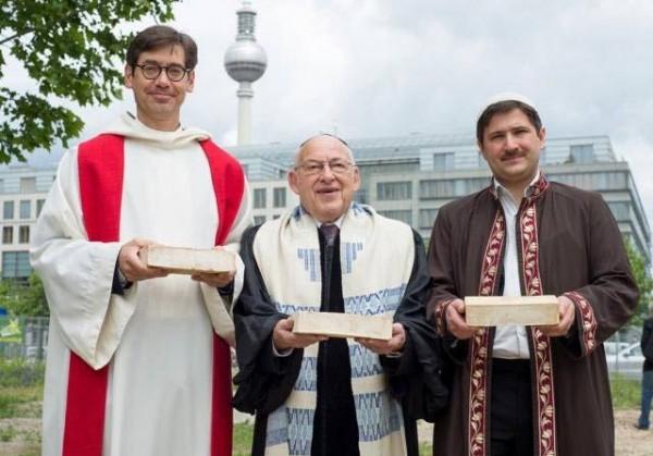 Церковь-мечеть-синагога. В Берлине откроется первый в мире храм для трех религий