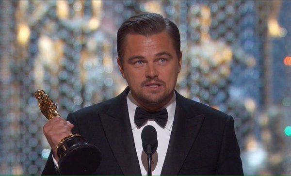 «Мы счастливы за тебя, Лео!» Ди Каприо наконец получил «Оскар»
