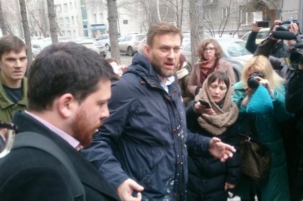 Атака на Навального 9