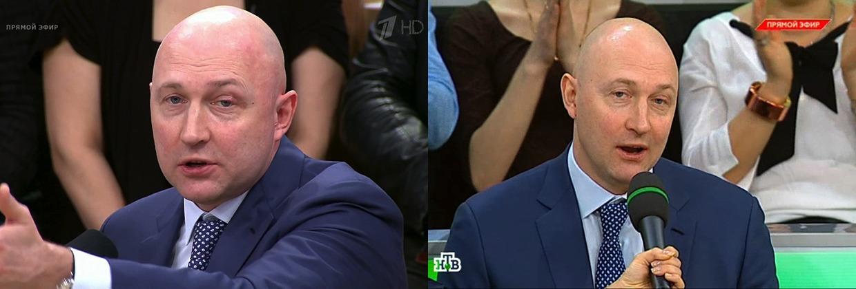 """Михаил Старшинов на """"Первом"""" и на НТВ"""