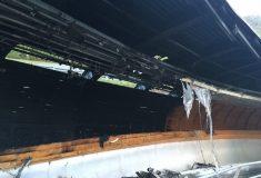 В Сочи сгорела олимпийская санно-бобслейная трасса