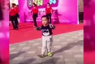 «Талант с рождения». Малыш вышел танцевать с профессионалами и поразил интернет