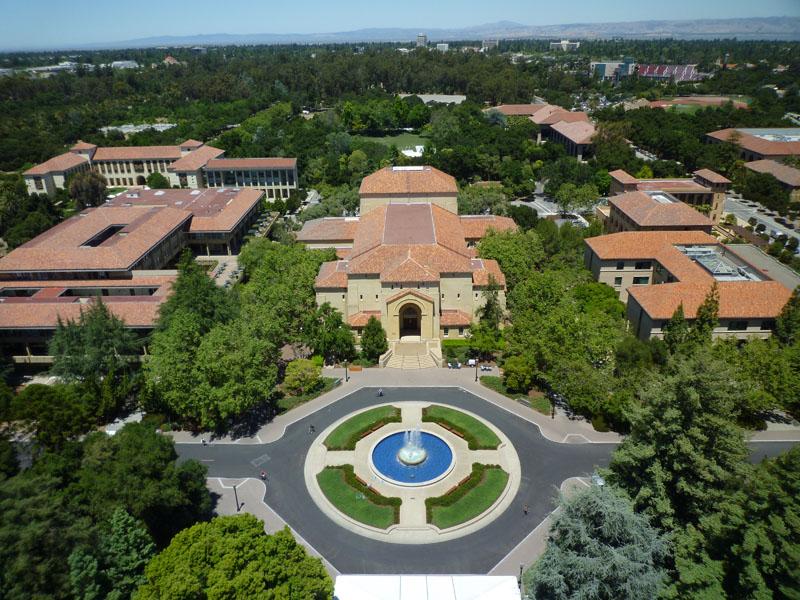Территория Стэнфордского университета