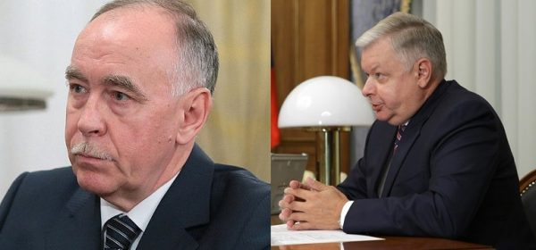 Виктор Иванов (слева) и Константин Ромодановский
