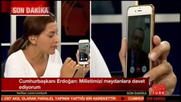 Erdogan dy Facetime