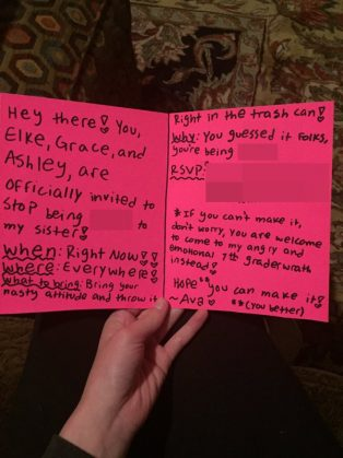 12-year-old girl totally destroys school mean girls Credit: daisy/ Twitter