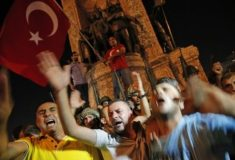 Попытка военного переворота в Турции. Хроника