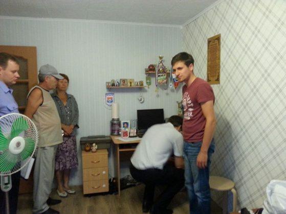 Фото из фейсбука Егора Бычкова