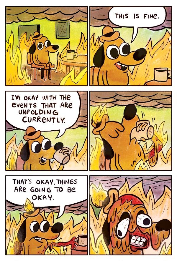 комикс о депрессии