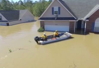 «Сможешь забрать его оттуда на лодке?» Американец спас брата с помощью дрона и твиттера