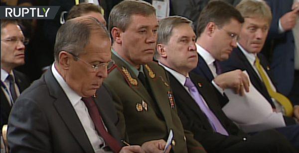 Песков «впал вспячку» напресс-конференции Владимира Путина иЭрдогана
