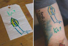 #Каракули: родители делают татуировки с рисунками своих детей